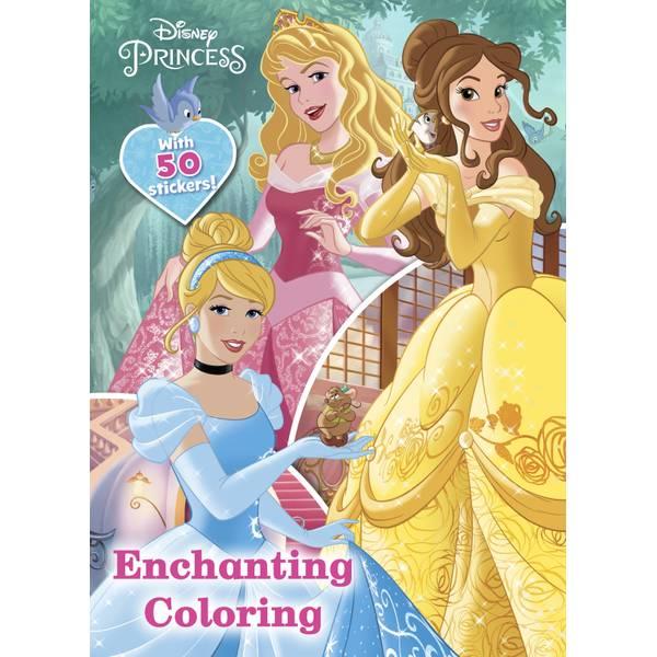 Princess Enchanting Coloring Book