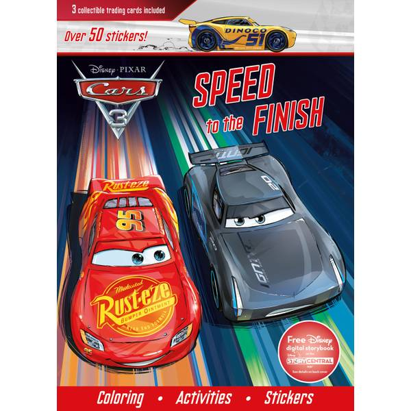 cars 3 speed to the finish book