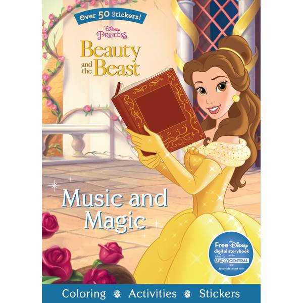 Beauty and the Beast Music & Magic Book
