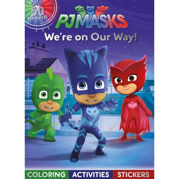 PJ Masks We're on Our Way! Book