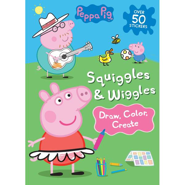 Squiggles & Wiggles Book