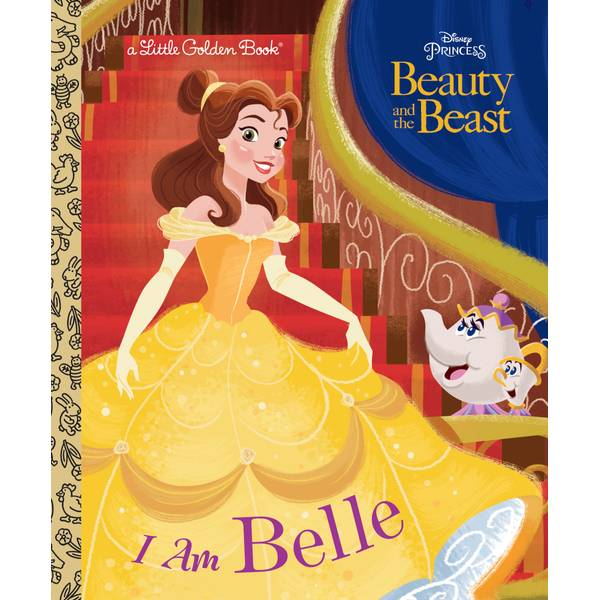 Disney Beauty and The Beast I Am Belle Book