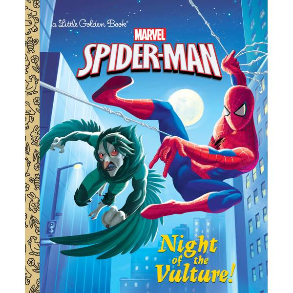 Marvel Spider-Man Night of the Vulture Book