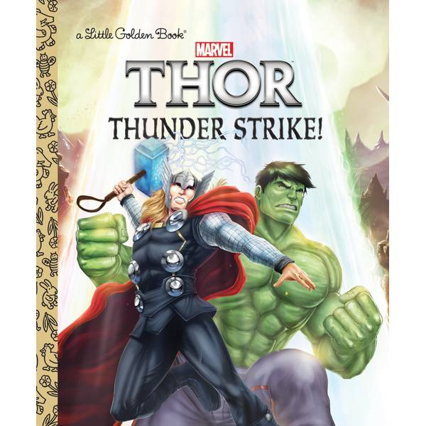 Marvel Thor Thunder Strike Book