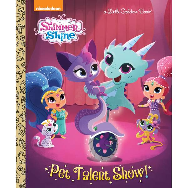 Shimmer & Shine Pet Talent Show Book