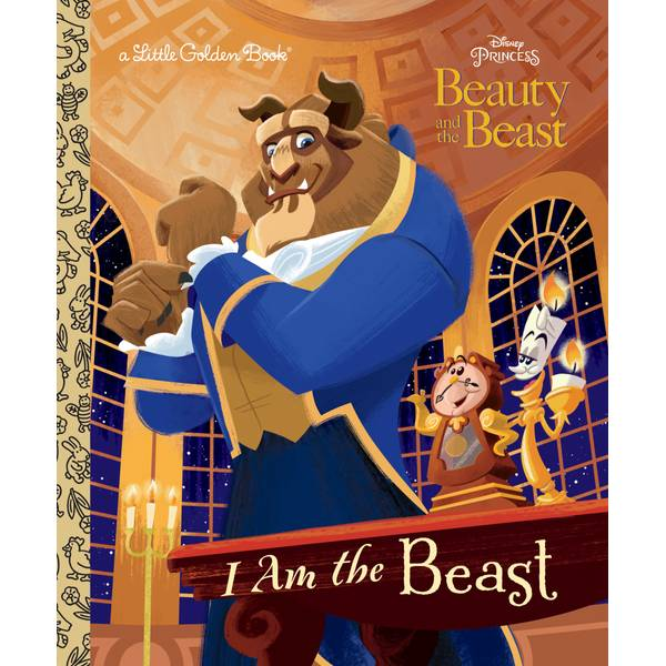 Disney Beauty and The Beast I Am the Beast Book