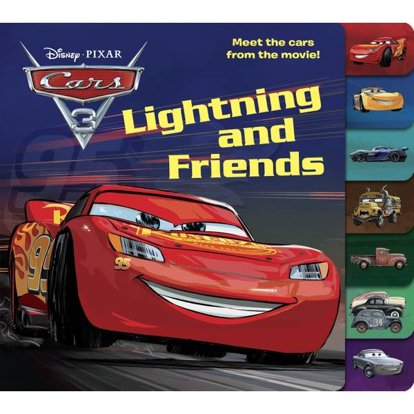 Disney Cars 3 Lightning and Friends Book