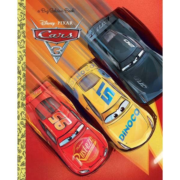 Disney Cars 3 Big Golden Book