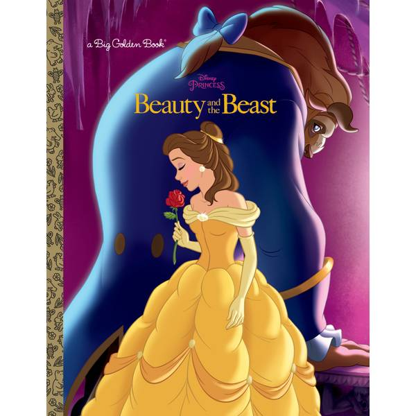 Disney Beauty and the Beast Big Golden Book
