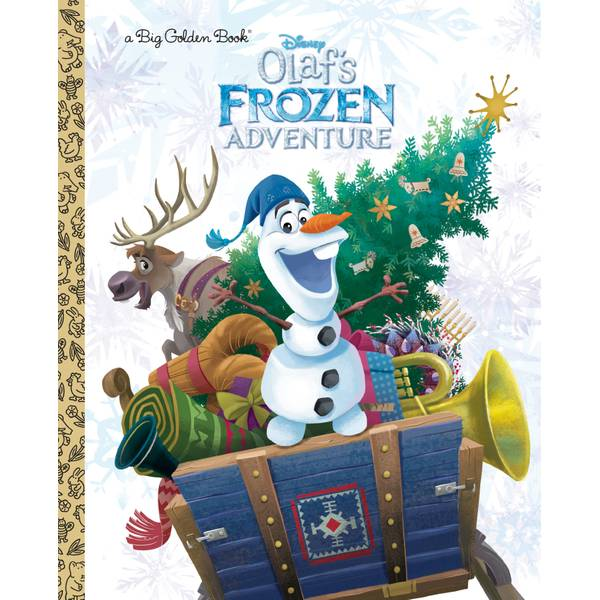 Disney Frozen Olaf's Frozen Adventure Big Golden Book