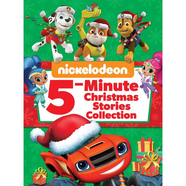 Nickelodeon 5-Minute Christmas Stories Book