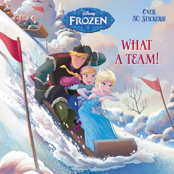 Disney Frozen What a Team Book