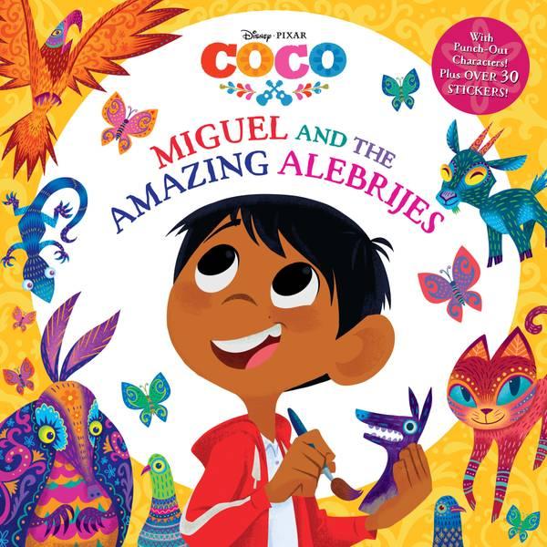 Disney Pixar Coco Miguel and the Amazing Alebrijes Book