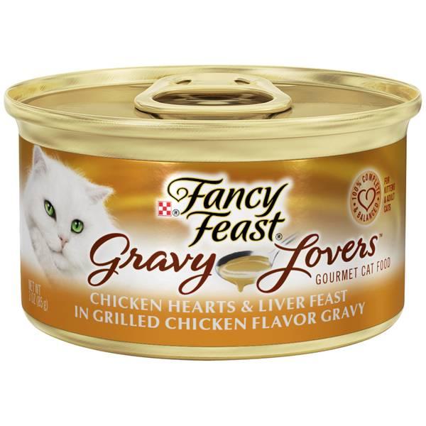 Gravy Lovers Chicken Hearts & Liver Feast In Grilled Chicken Flavor Gravy