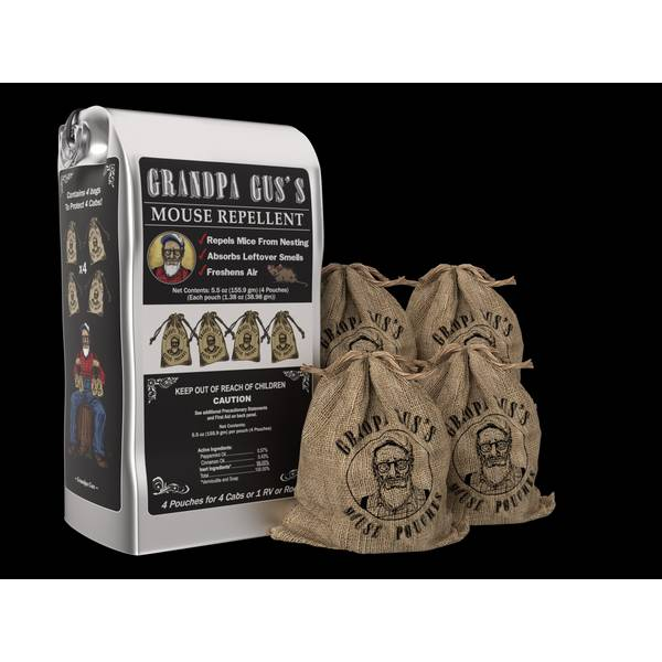 Mouse Repellent Pouches - 4 Pack