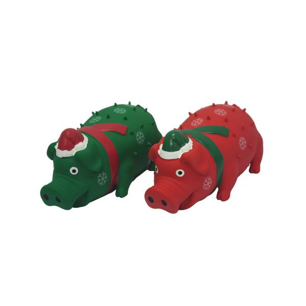 Holiday Globlets Dog Toy Assortment