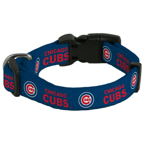 Chicago Cubs Medium Dog Collar