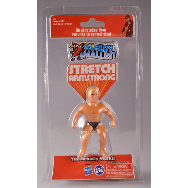 World's Smallest Stretch Armstrong Toy