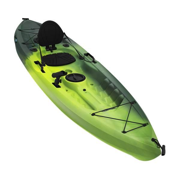 Lifetime products tamarack 100 angler kayak for Tamarack fishing kayak