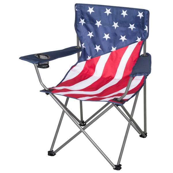 Merveilleux American Flag Camp Chair