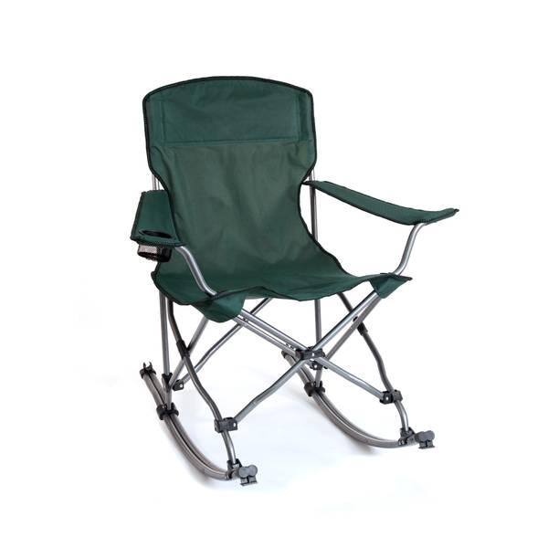 Stupendous Mac Sports Folding Rocker Chair Creativecarmelina Interior Chair Design Creativecarmelinacom