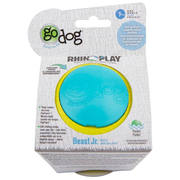 Rhino Play Beast Jr. Dog Toy