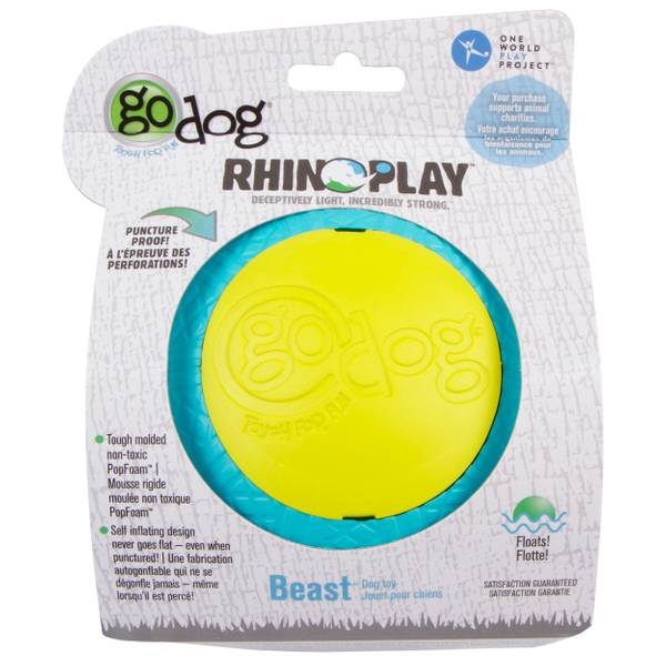 Rhino Play Beast Dog Toy