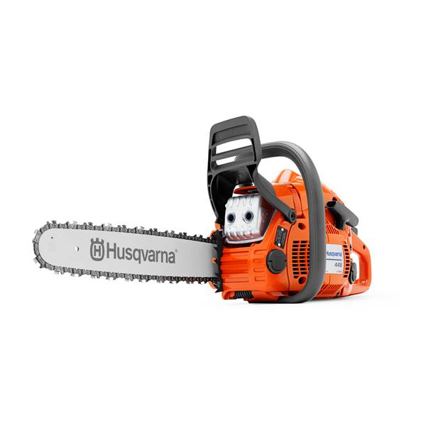 "18"" Fully Assembled Gas-Powered Chain Saw"