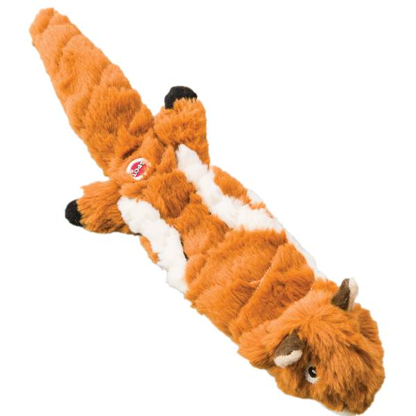 "14"" Mini Skinneeez Extreme Quilted Chipmunk Dog Toy"