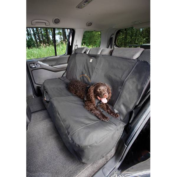 Charcoal Bench Seat Cover