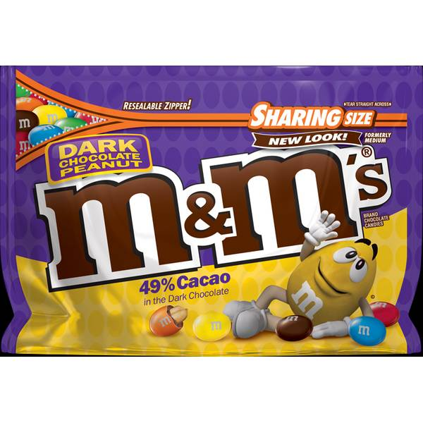 Dark Chocolate Peanut Candies