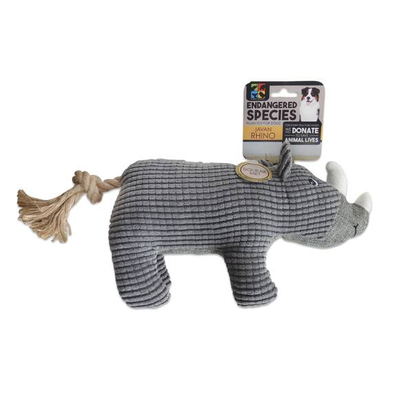Endangered Species Javan Rhino Toy