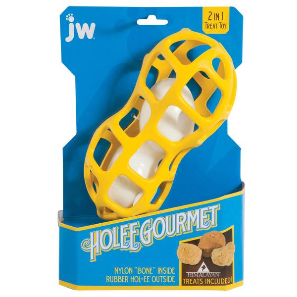 Holee Gourmet Peanut Dog Toy