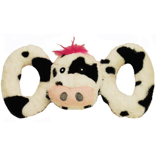 Tug-a-Mal Small Cow Dog Toy