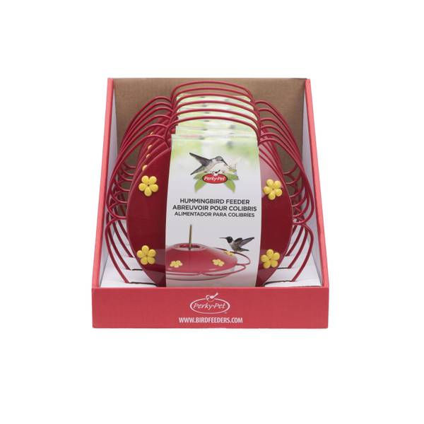 16 oz Oasis Plastic Hummingbird Saucer Feeder