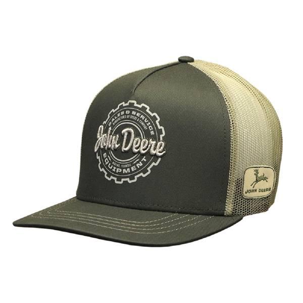 High Profile Men's Olive Trucker Cap