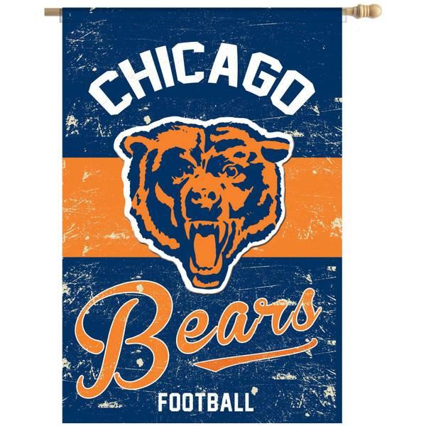 Chicago Bears Vintage Flag