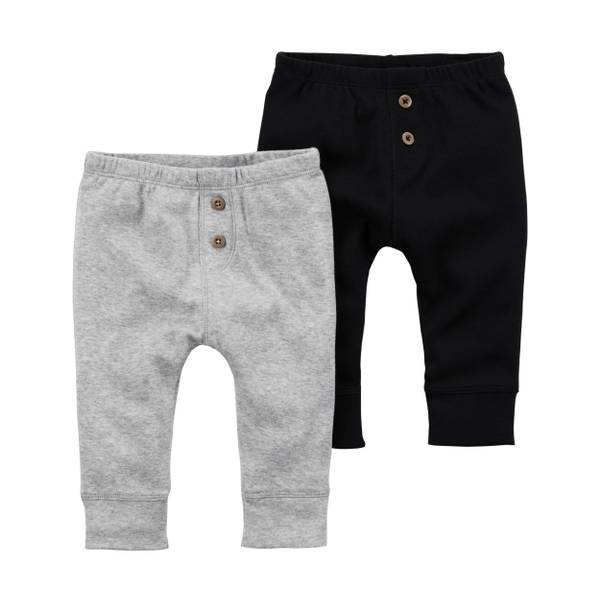 Baby Boys' 2-Pack Babysoft Pants