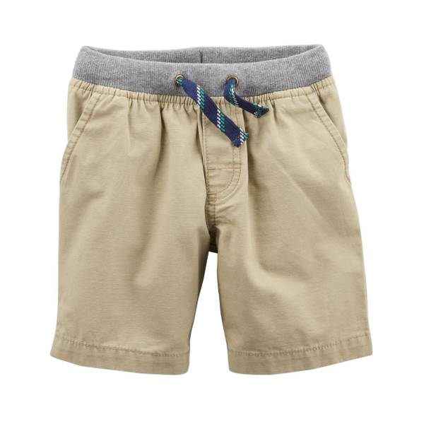 Little Boys' Canvas Shorts