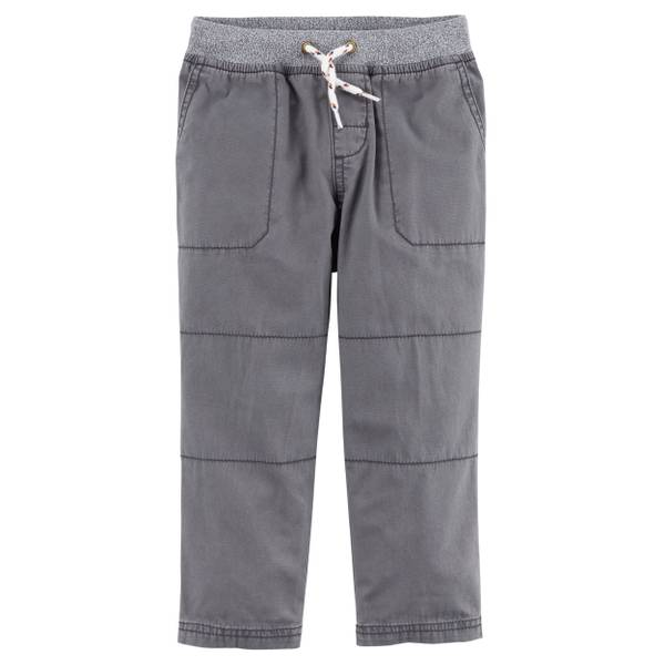 Big Boys' Khaki Canvas Pants