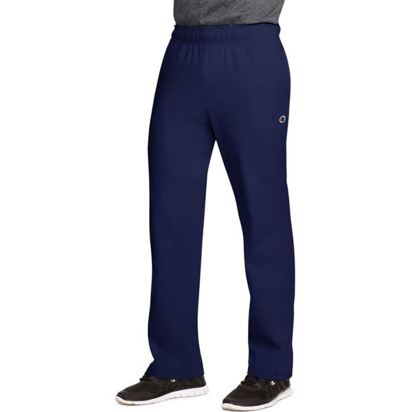 Men's Jersey Open Bottom Lounge Pants