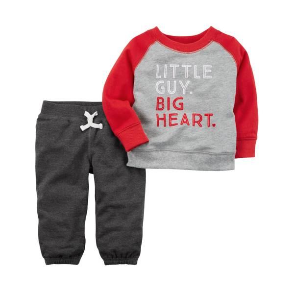 Baby Boys' 2-Piece Valentine's Day Set