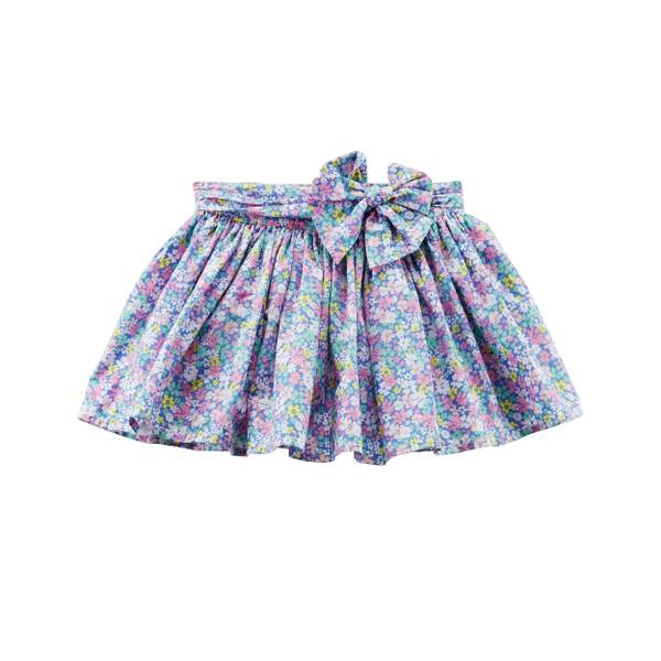 Little Girls' Floral Sheeting Skirt