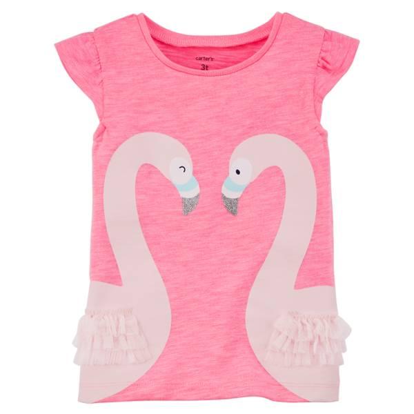 Toddler Girls' Flutter Sleeve Tank Top