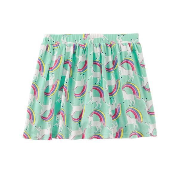 Toddler Girls' Patterened Skirt
