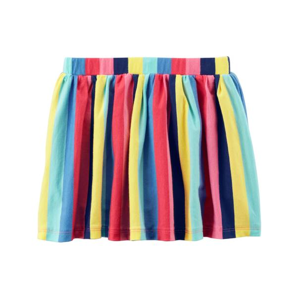 Little Girls' Patterned Skirt