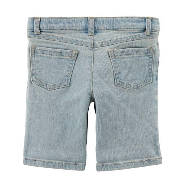 Girl's Roll Cuff Twill Shorts