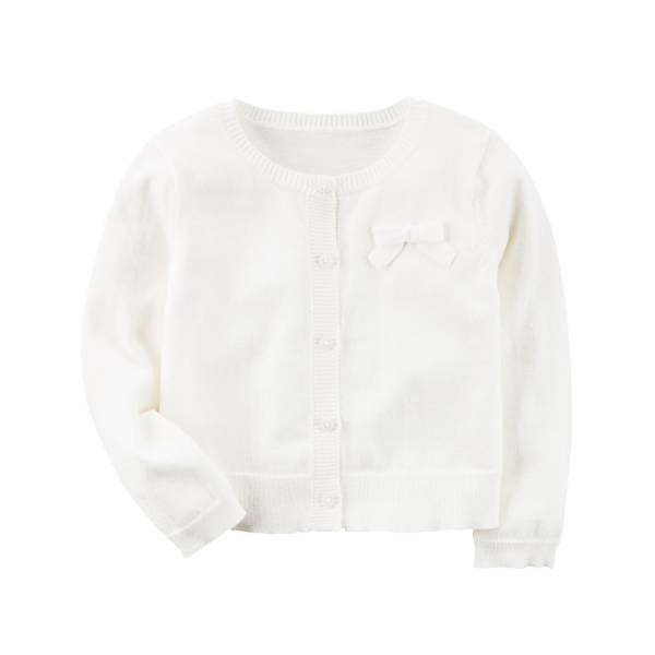 Knit Cardigan White