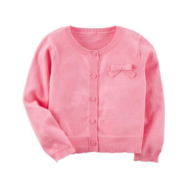 Toddler Girls' Knit Cardigan Sweaters