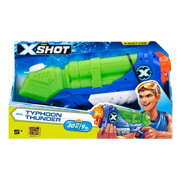 X-Shot Water Warfare Typhoon Tunder